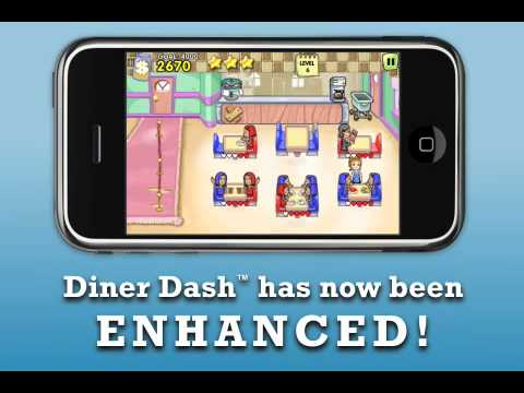 0 Test : Diner Dash ( iPhone / iPad )