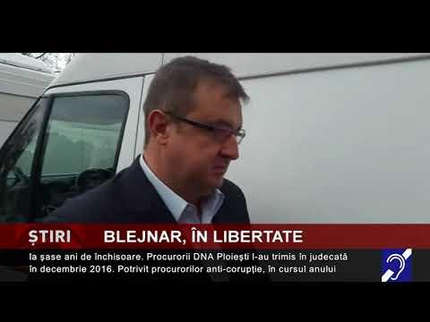 Sorin Blejnar, eliberat din închisoare