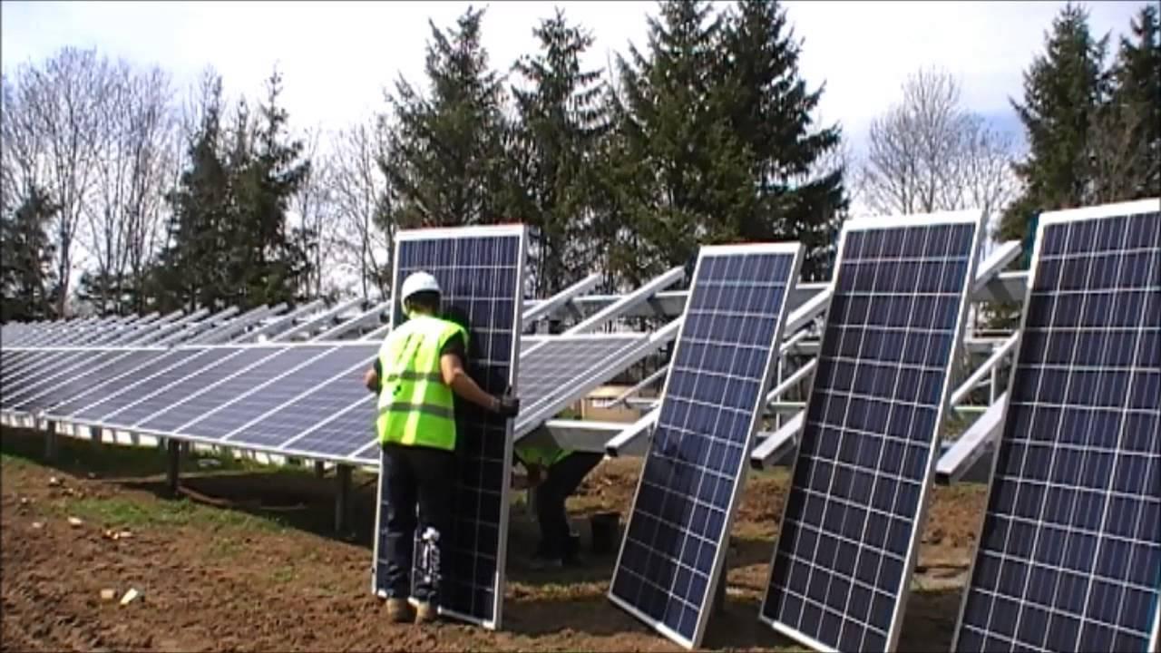 Ernesol huerto solar en Francia