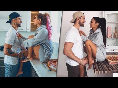 Fotos de amor - Imitando fotos románticas con Malcriado