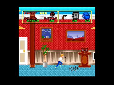Home Alone Super Nintendo