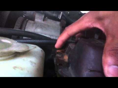 How to change 1985 jaguar xj6 coolant tank