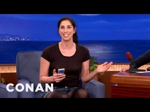 Conan - Sarah Silverman's Dirty Smartphone Hack