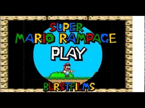 Super Mario Rampage Flash Game