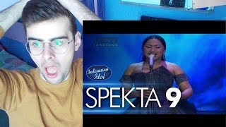 Video MARIA - NEVER ENOUGH (Loren Allred) - Spekta Show Top 7 - Indonesian Idol 2018 REACTION MP3, 3GP, MP4, WEBM, AVI, FLV Juni 2018