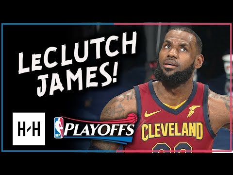 LeBron James Full Game 4 Highlights Cavs vs Pacers 2018 Playoffs - 32 Pts, 12 Reb, 7 Ast, CLUTCH (видео)