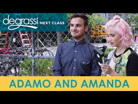 Degrassi Reunion: Adamo and Amanda