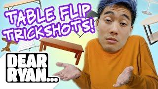 Video Table Flip Trickshots! (Dear Ryan) MP3, 3GP, MP4, WEBM, AVI, FLV Juli 2018