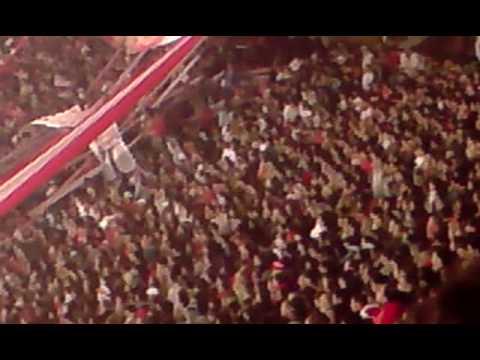 Hinchada de Estudiantes Vs Nacional - Los Leales - Estudiantes de La Plata