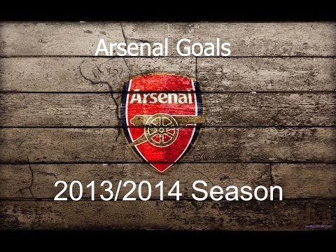 All Arsenal Goals || 2013 – 2014