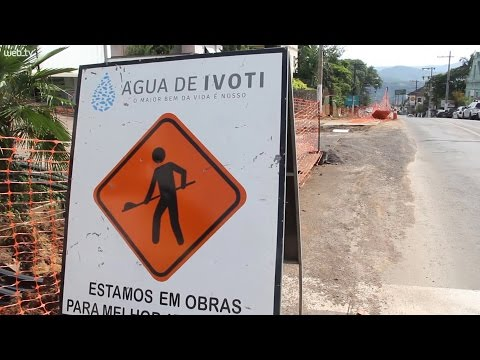 Obra na Avenida Presidente Lucena gera polêmica em Ivoti