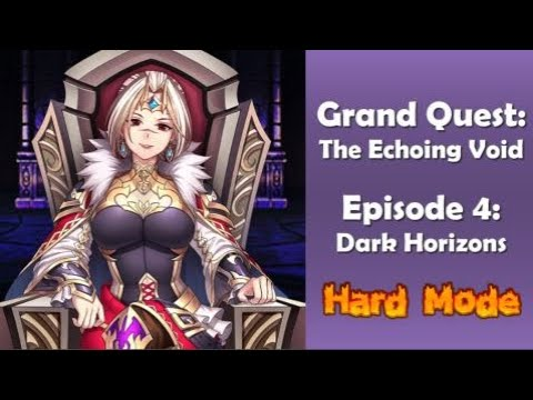 Brave Frontier - GQX6: The Echoing Void Episode 4 Hard Mode (No Steam Used)