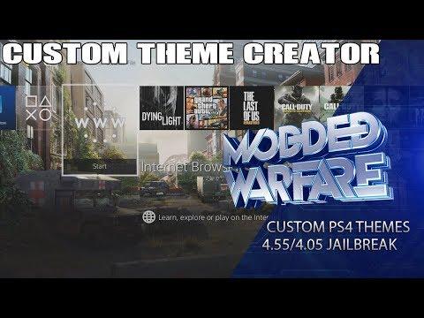 Custom PS4 Themes Tutorial (5.05/4.55 Jailbreak)
