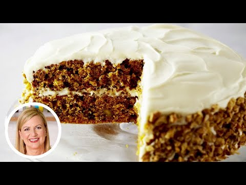 How To Make The BEST Carrot Cake With Cream Cheese Frosting!