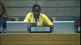 UNEA 3, GMGSF Session 2, Pollution Free Planet and 2030 Agenda facilitated by Leonida Odongo