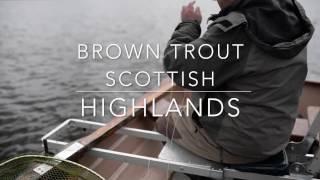 Wild Brown Trout - Loch Eye, Highlands Scotland