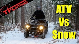 3. Snow Can't Stop the 2020 Can-Am Outlander MAX XT 850