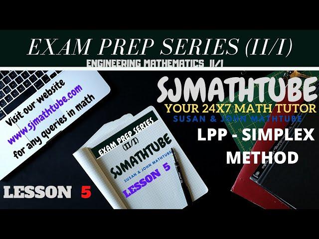 1 - LPP - Simplex Method