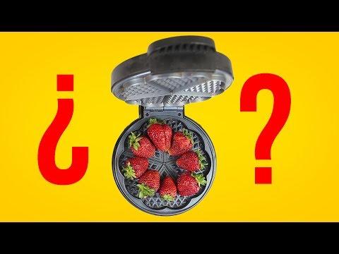 ¿puedes meter fruta en la gofrera?