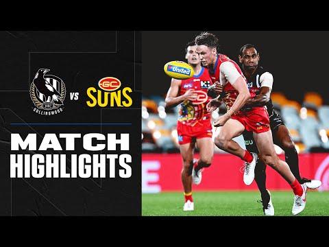 Collingwood v Gold Coast Highlights | Round 17, 2020 | AFL
