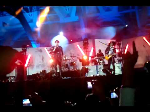 My chemical romance en el winter 2011 valencia