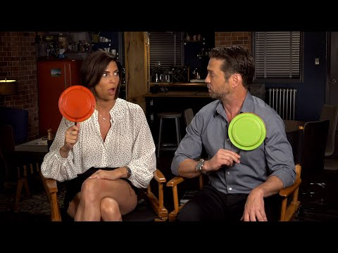 Private Eyes' Jason Priestley & Cindy Sampson Do the 'Canadian TV Trivia' Challenge