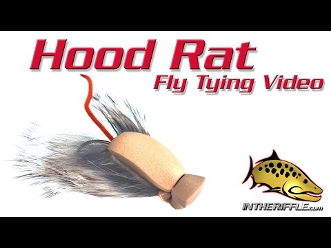 Hood Rat - Mouse Streamer Fly Tying Video Instructions (видео)