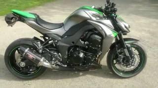 6. Kawasaki Z1000 2016 Yoshimura R77 dual carbon - Idle sound