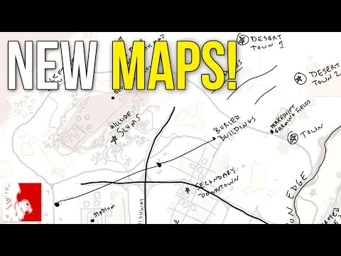 New Maps Being Worked On For PLAYERUNKNOWN'S BATTLEGROUNDS!