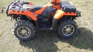 8. Polaris Sportsman 850 XP Orange Madness Walkaround