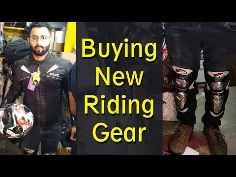 Buying new riding gear - Karol Bagh |  For a long riding trip | Part-1