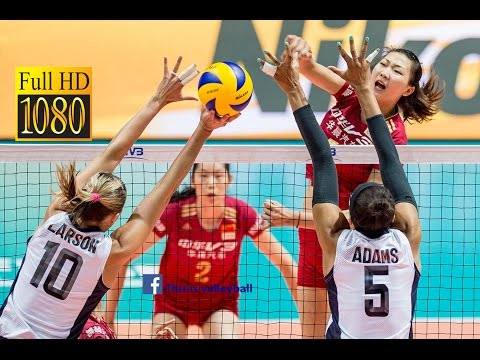 สหรัฐอเมริกา พบกับ จีน |15.00 | 8 July 2016 | Final Round | 2016 FIVB Volleyball World Grand Prix