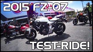 10. Bike Test: 2015 Yamaha FZ-07