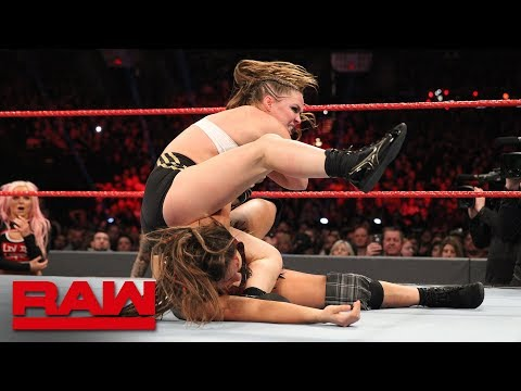 Ronda Rousey vs. Sarah Logan: Raw, Feb. 4, 2019