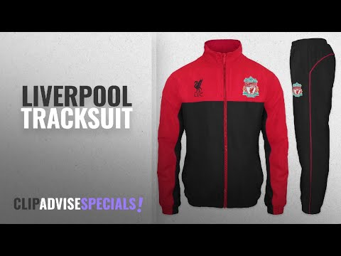 Top 10 Liverpool Tracksuit [2018]: Liverpool FC Official Football Gift Mens Jacket & Pants