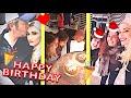 Gwen Stefani & Blake Shelton celebrating Gwen's sister Jill's birthday with Christmas vibes 😍🎄