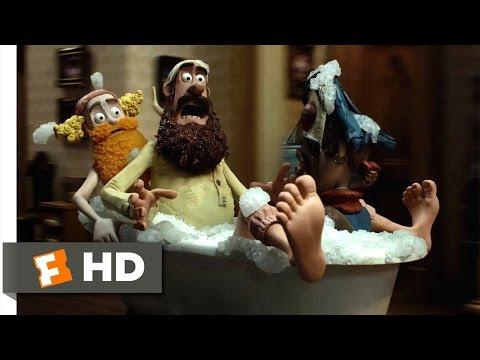 The Pirates! Band of Misfits (3/10) Movie CLIP - Runaway Bathtub (2012) HD