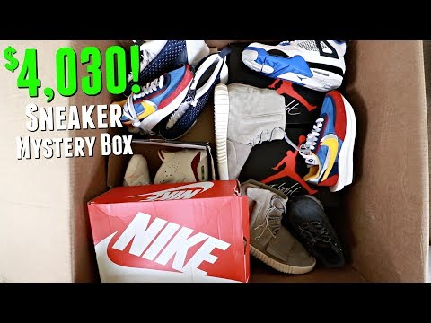 Unboxing A $4000 Sneaker Mystery Box!