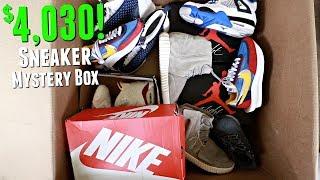 Video Unboxing A $4000 Sneaker Mystery Box! MP3, 3GP, MP4, WEBM, AVI, FLV September 2019
