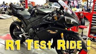 1. Yamaha R1 Test Ride!  | TestRides