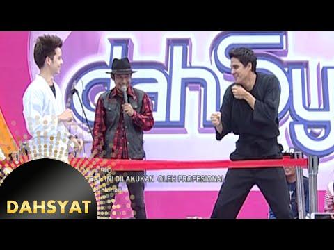 Boy vs Candra adu bela diri di ring Dahsyat [Dahsyat] [18 Des 2015]