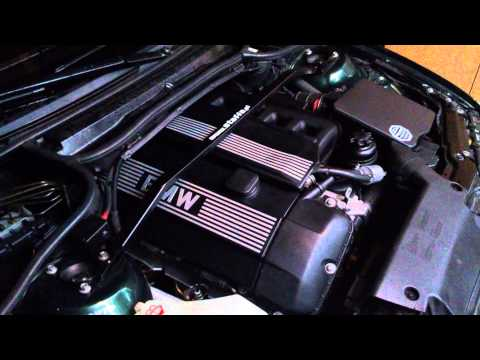 E46 320i M52TU engine sound after spark plug replace