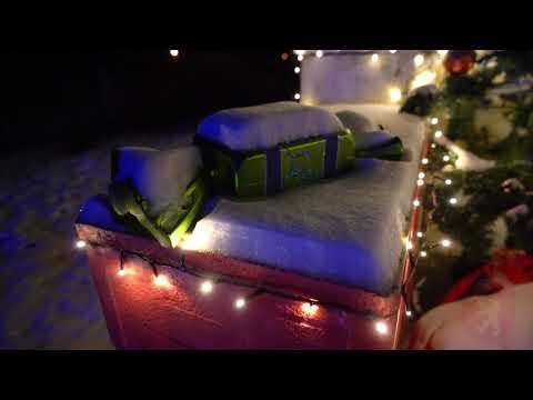 Ziemassvētku gaismas Valkā