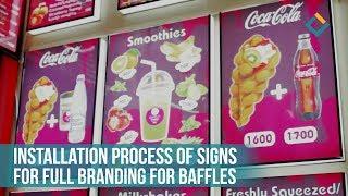 Full branding for Baffles