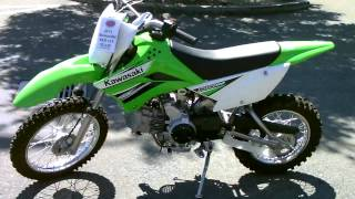 6. Contra Costa Powersports-New 2011 Kawasaki KLX110 Electric Start Dirtbike
