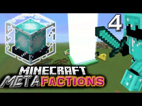 FASTEST WAY TO DIG AND BUILD AN UNDERGROUND FACTION BASE. BOOMCRAFT EPISODE 4