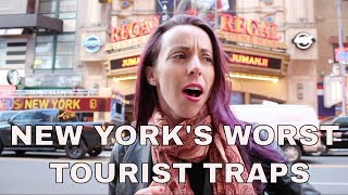 Video New York's Worst Tourist Traps: Times Square, Scams, Frauds, and More MP3, 3GP, MP4, WEBM, AVI, FLV Agustus 2019