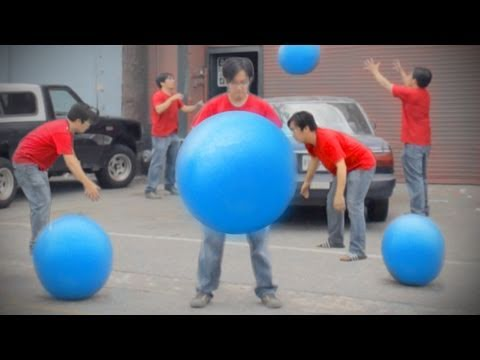 Freddie Wong - Big Blue Ball Machine
