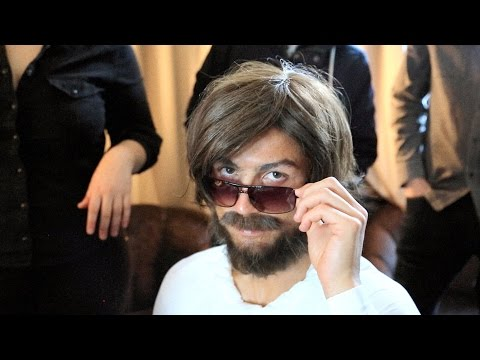 Cristiano Ronaldo Disguises Himself As A Homeless