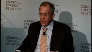 A Conversation With Sergey Lavrov